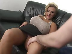 Blonde, Mature, Creampie, MILF