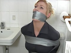 Bondage, Bathroom, Housewife