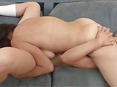 Brunette, Cunnilingus, Lesbian