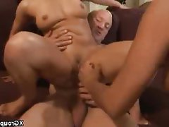 Blowjob, Group Sex, Hardcore, Threesome