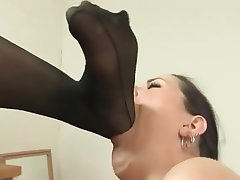 Foot Fetish, Lesbian, Foot Fetish