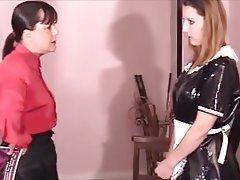 BDSM, Maid, Spanking
