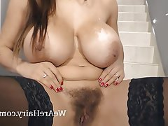 Big Boobs, Czech, Hairy, Masturbation