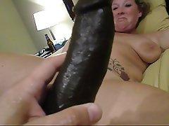 Big Black Cock, Masturbation, Wife