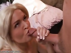 Blonde, Cum in mouth, Hardcore