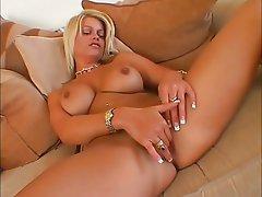 Babe, Blonde, Masturbation, Pussy