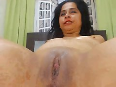 Sexy latina pussy squirt happens