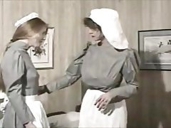 Maid, Retro, Spanking