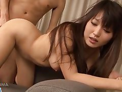 Asian, Blowjob, Creampie, Handjob