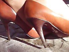 Fuß Fetisch, Hoher Absatz