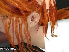 Hentai, Cartoon, 3D