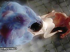 Hentai, Dessin animé, 3D