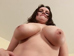 Big Boobs, Big Nipples, Masturbation, Solo