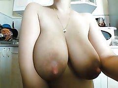 Big Boobs, MILF, Nipples, Pregnant