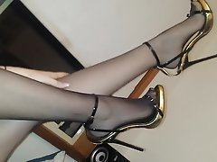 Foot Fetish, High Heels, Stockings