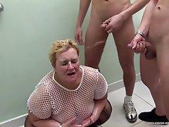 Skupinový sex, Babičky, Zralé ženy, Velké krásky