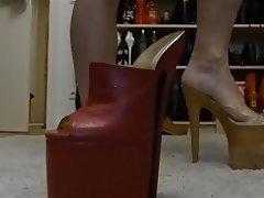Fuß Fetisch, Fussjob, Hoher Absatz