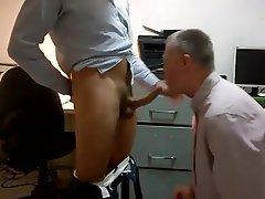 Blowjob, Office