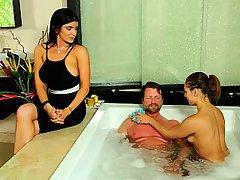 Massage, Wife, Husband, Teen