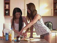 Adolescentes, Lesbianas, Lesbianas, Bragas, Gran Culo