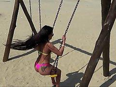 Plaj, Brezilya, Latin Amerika, Latin Amerika