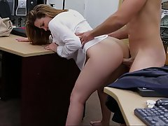Office, Whore, Boobs, Webcam
