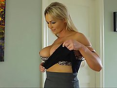 Boobs, MILF, Whore, Blonde