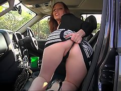 MILF, Cute, Car, Bus