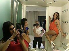 Lesbian, Lesbian, Party, Webcam, Amateur