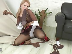 Stockings, MILF, Pantyhose, Pantyhose