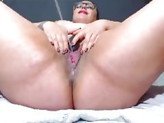 BBW, Close Up, Masturbation, Squirt