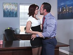 Office, Lingerie, Stockings