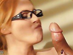 Redhead, Glasses