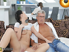 Blowjob, Old and Young, Cuckold, Girlfriend