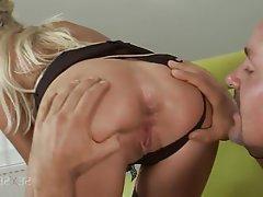 Anal, Blonde, Spanking, Ass