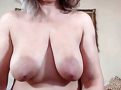 Webcam, Mature, Saggy Tits, Pussy