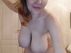 Webcam, Mature, Big Boobs, Russian