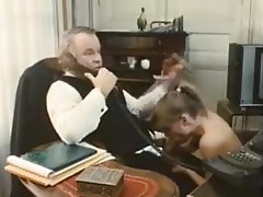 Blowjob, Vintage, Old and Young, French