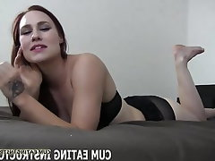 Cumshot, BDSM, Femdom, Cum in mouth