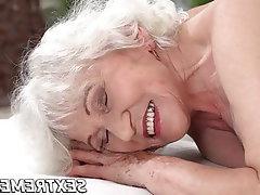 Cumshot, Mature, Granny, Big Tits