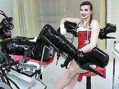 BDSM, Femdom, Latex, German