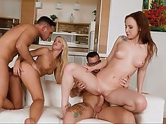 Teen, Party, Foursome, Foursome