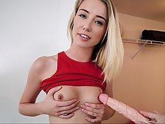 Teen, Webcam, POV, Blonde