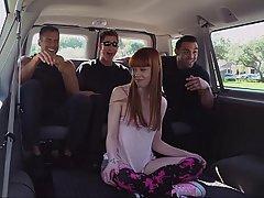 Car, Bus, Redhead, BDSM