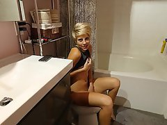 Bathroom, Teen, Webcam, POV