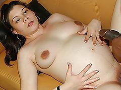 Pregnant, Interracial, Big Nipples, Big Cock