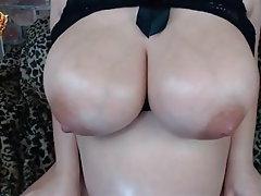Webcam, Nipples, Pregnant, Big Nipples