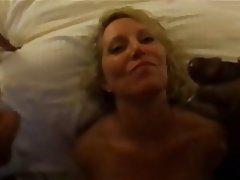 Housewife swallow sperm
