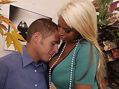 Babe, Big Tits, Blonde, Blowjob