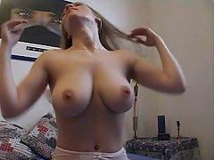Amateur, Grosse Tits, Blondine, Ficken